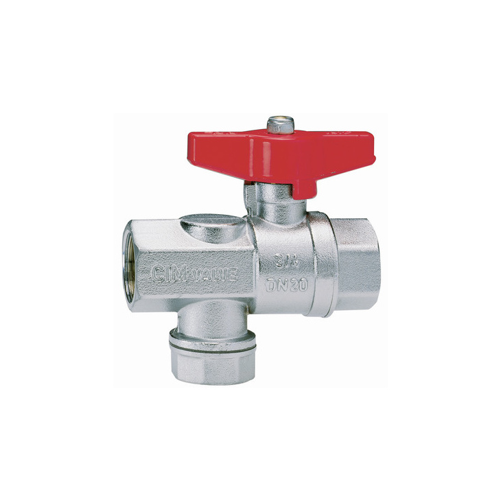 Ball valves with strainer