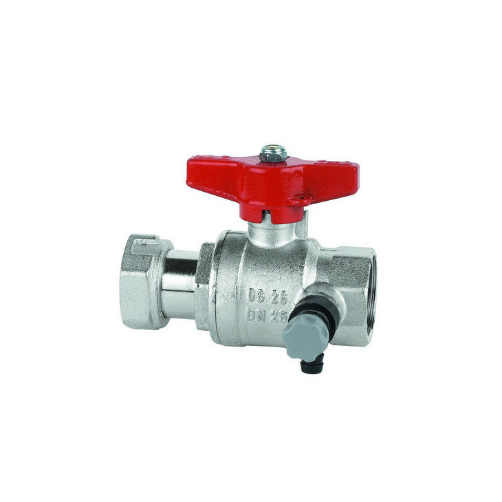 Water-meter oulet side ball valves