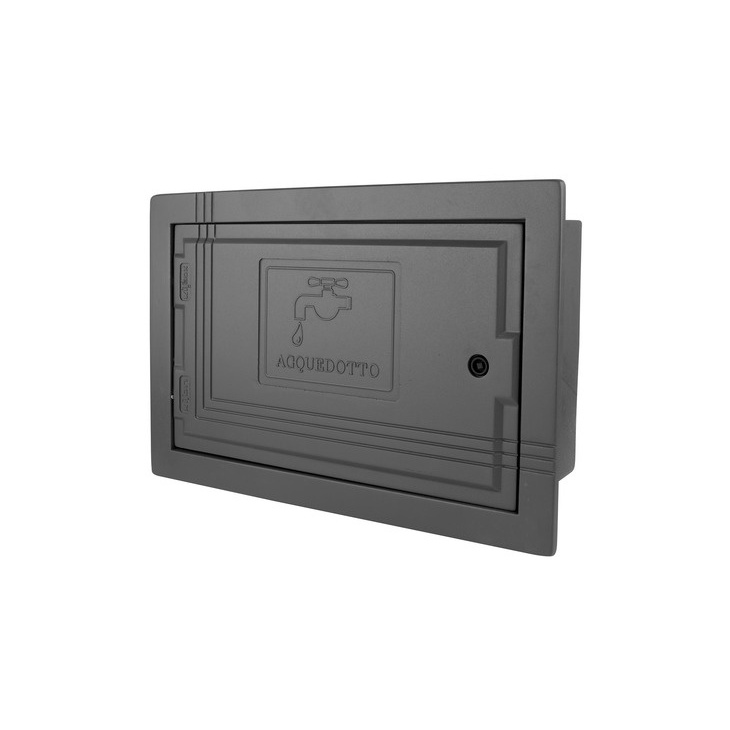 Wall mounted water-meter boxes