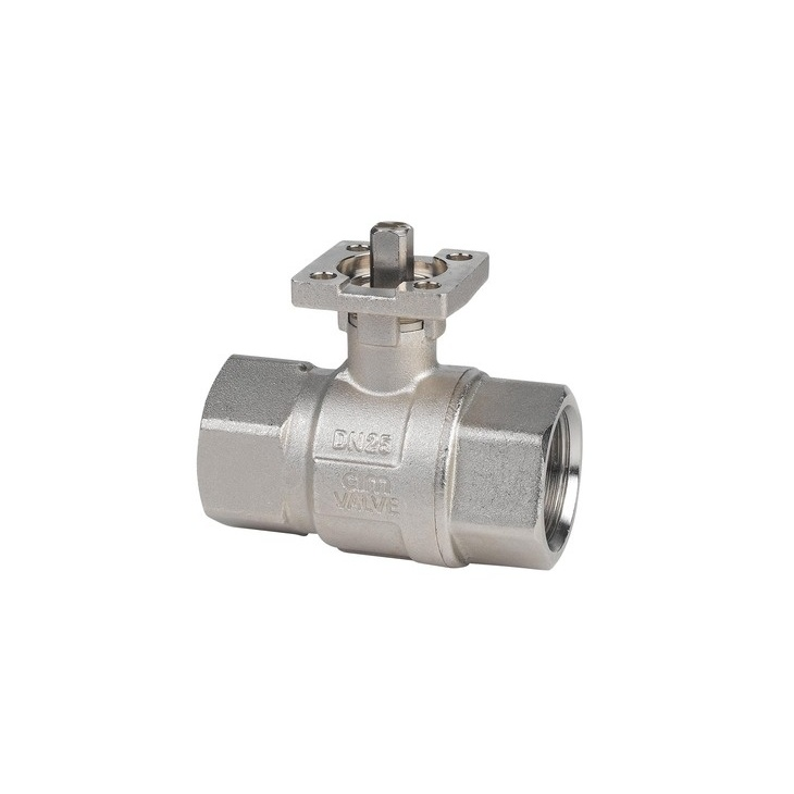 Ball valves with iso 5211 connection