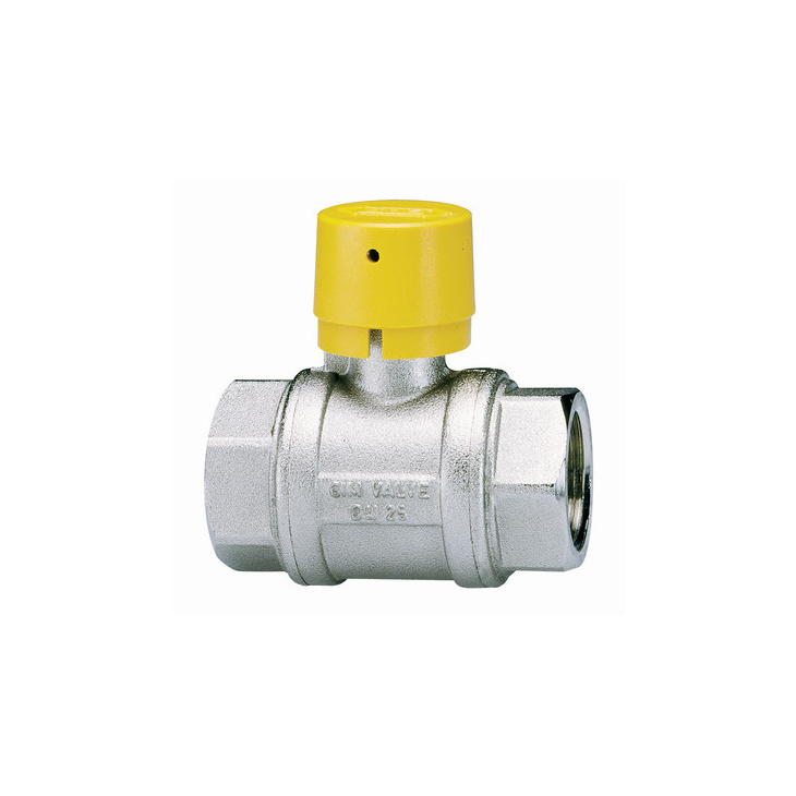 Gas ball valves for vertical-tube riser