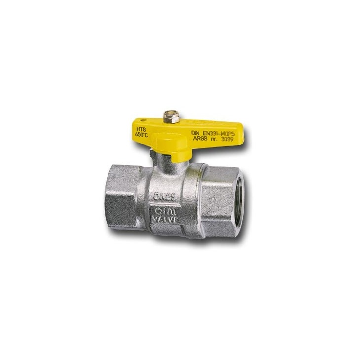 High temperature gas ball valves